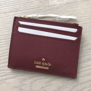 Kate Spade Lalena Leather  Card Case Wallet